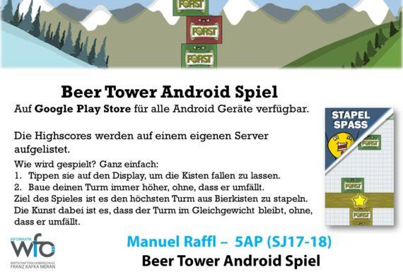 """App """"Beer Tower"""""""