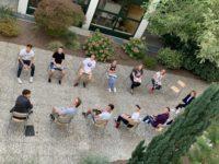 Klasse im Freien